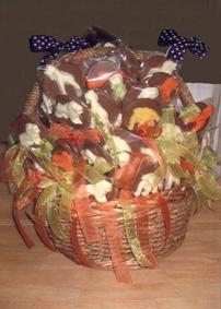 A basket of Safari Pops