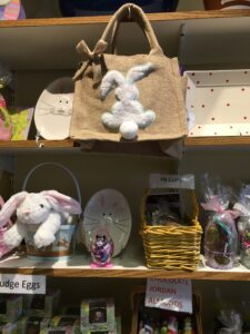 Shelves of Easter Items
