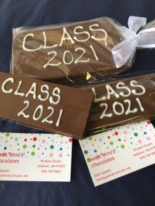 Class of 2021 Chocolates